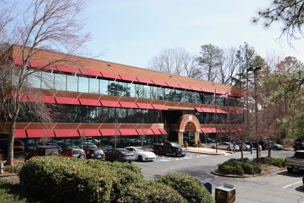 OPA Staffing's new office space, strategically located in the Pavilion Center at 9755 Dogwood Rd., in Roswell, Georgia